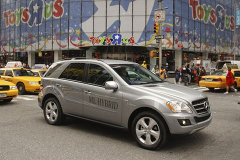 Mercedes-Benz 2011 ML450 HYBRID