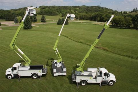 Twelve medium- and heavy-duty utility service vehicles will be equipped with the Terex HyPower Hybrid System.