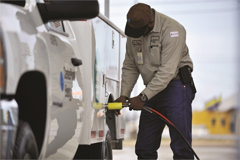 CenterPoint Energy began its natural gas initiative in 2011 and expects to have 85 natural gas trucks, mostly ½-ton pickups, by the end of 2013.