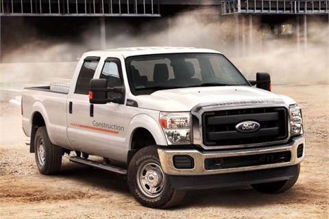 Photo of F-250 courtesy of Ford.