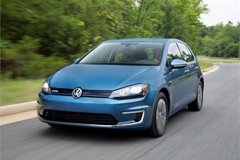 Photo of 2015 e-Golf courtesy of VW.