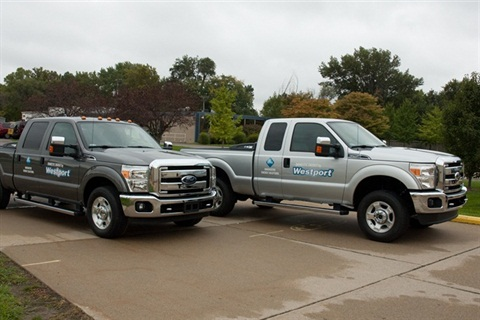 The Westport WiNG Power System is available in the Ford F-250 and F-350 Super Duty pickup trucks (based on Ford's new 6.2L hardened engine platform) sold and serviced through Westport-authorized Ford dealer distributors.