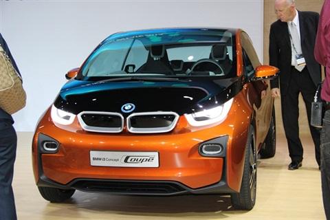 Photo of the 2014 BMW i3 via Autmotive Fleet.