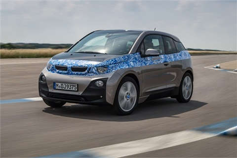 The all-electric BMW i3. Photo courtesy BMW.