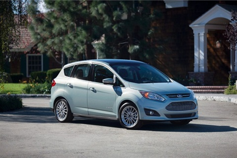 Photo of Ford C-MAX Hybrid courtesy of Ford Motor Co.