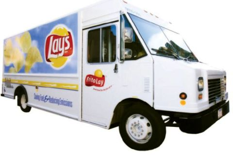 PepsiCo-FritoLay is one of several fleets employing hybrid-electric trucks as part of corporate green initiatives.