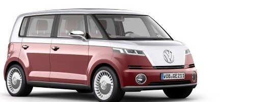 Volkswagen Bulli concept electric vehicle